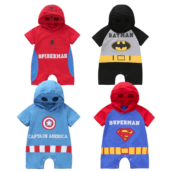 Baby Super Hero Romper