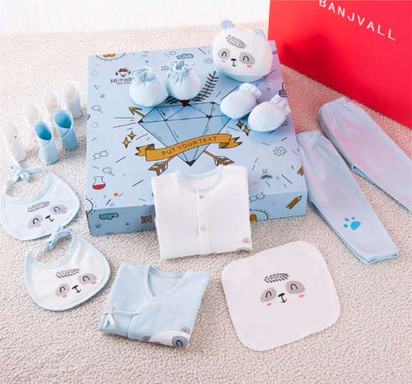 New Born Gift Package (18 - Piece)