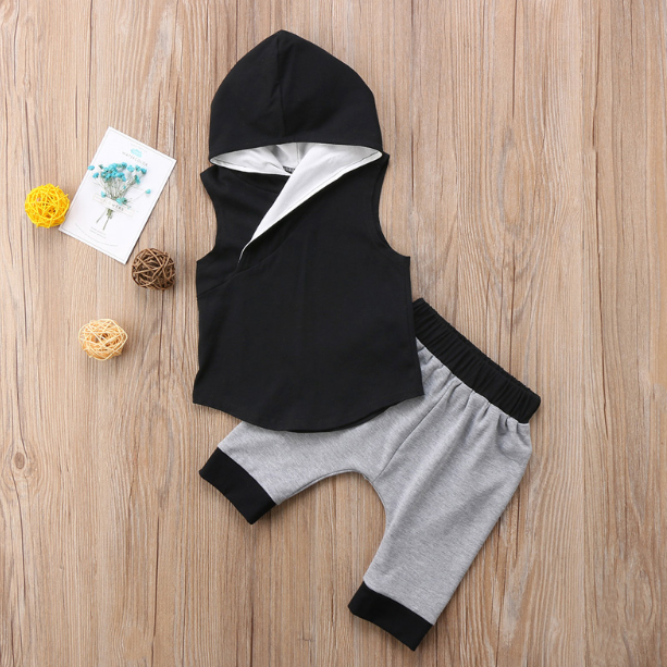 Slick Hooded Set
