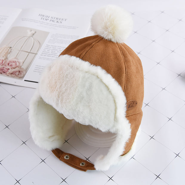 Baby Boy Plush Cap