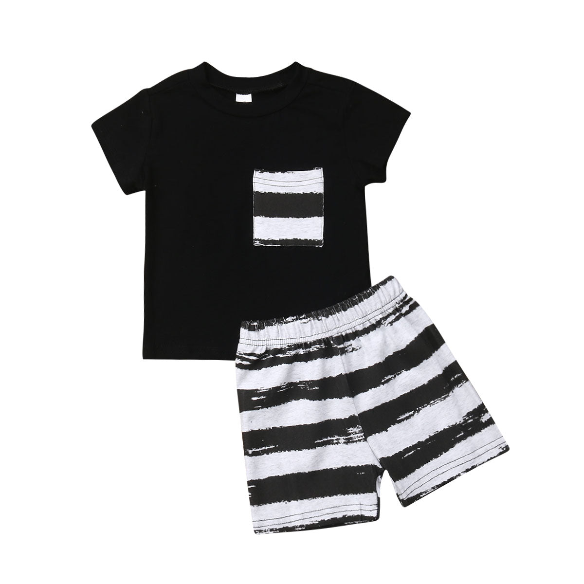 Striped Pocket Set