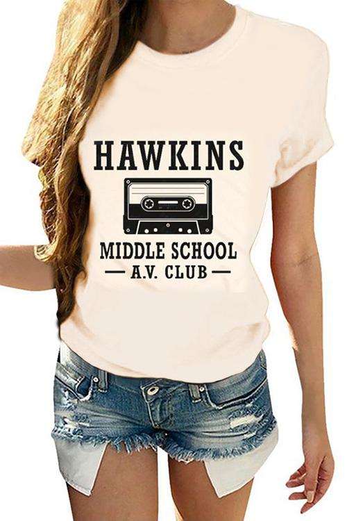 HAWKINS Printed short sleeves T-shirt