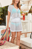 Ivory Crochet Cover Up(5 Colors)