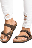 Stylish Buckle-Loop Flat Sandal