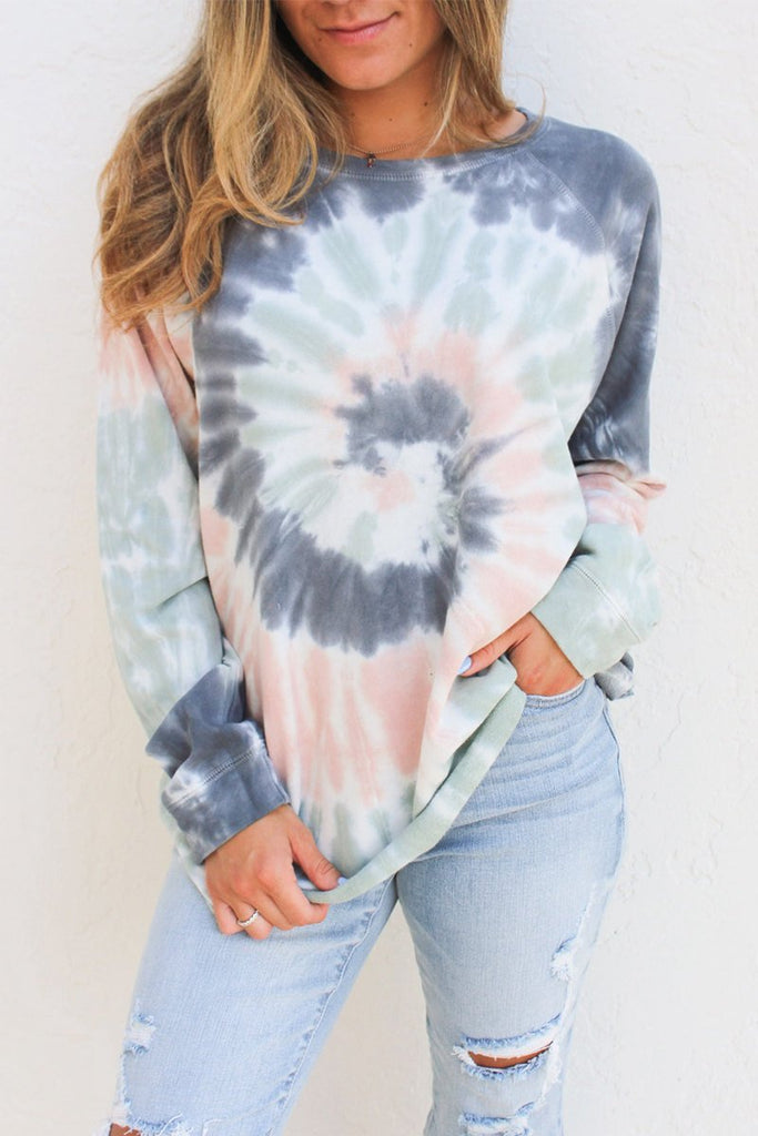 Printed Grey Sweatshirt