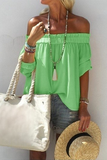 Stylish Off-Shoulder T-Shirt