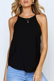 Irregular Sexy Solid Tank Top