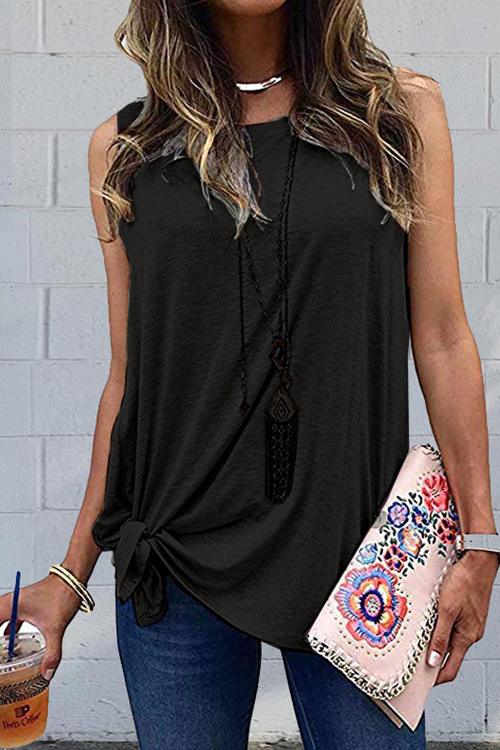 Simple Casual Tank Top
