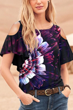 Stylish Printed Round Neck T-Shirt