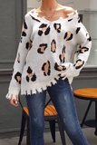 Mocha Leopard Sweater