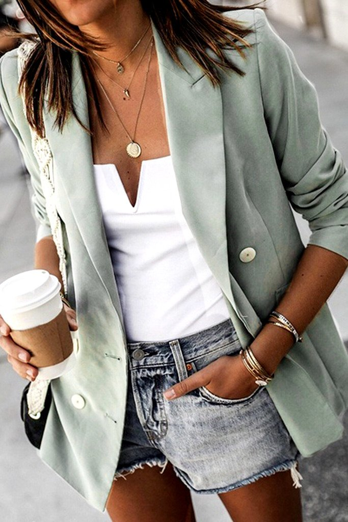Basic Grey Blazer