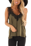 Lace Patchwork Camisole