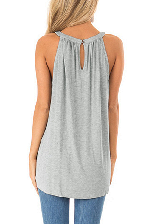Sexy Cross Hollow-Out Tank Top