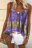 Printed Loose The Harness Tank Top