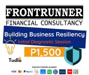 FRONTRUNNER FINANCIAL CONSULTANCY: Building Business Resiliency [Initial Diagnostic Session]