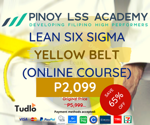 PINOY LSS ACADEMY: Lean Six Sigma Yellow Belt [Online Course]