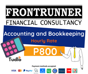 FRONTRUNNER FINANCIAL CONSULTANCY: Accounting and Bookkeeping [Hourly Rate]