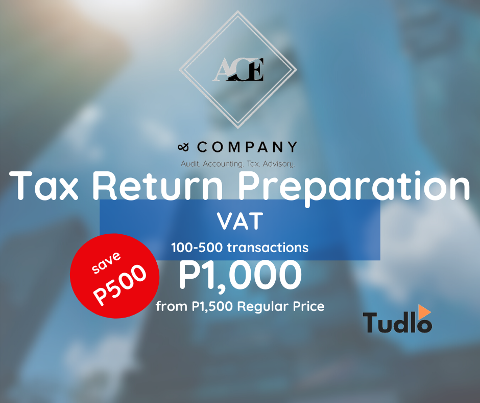 ANG CHUA ENRIQUEZ AND COMPANY: VAT Return Preparation - 101-500 Transactions