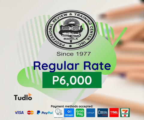 PRTC MANILA: CPA Review [Regular Rate]