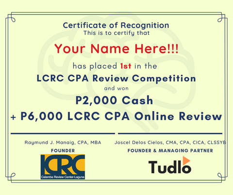 LCRC CPA Review Competition