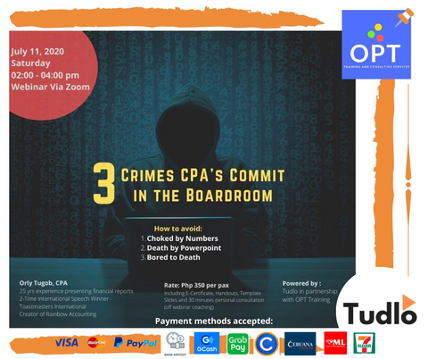 OPT TRAINING AND CONSULTING SERVICES: 3 Crimes CPAs Commit in the Board Room