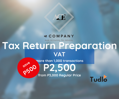 ANG CHUA ENRIQUEZ AND COMPANY: VAT Return Preparation - More than 1,000 Transactions