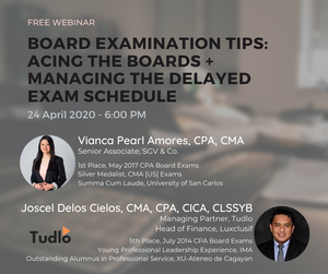 BOARD EXAMINATION TIPS: Acing the Boards + Managing the Delayed Exam Schedule