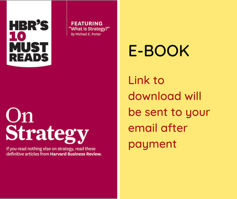 E-BOOK: HBRs 10 Must Reads on Strategy by Harvard Business Review