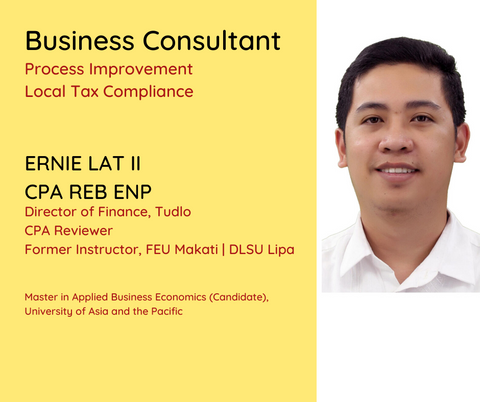 ERNIE LAT CPA REB ENP [Consultancy Hourly Rate]