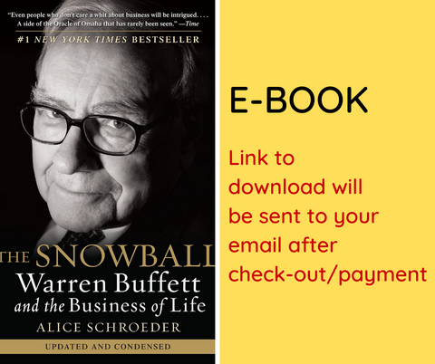 E-BOOK: The Snowball: Warren Buffett and the Business of Life