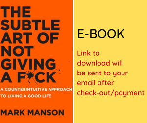 E-BOOK: The Subtle Art of Not Giving a Fuck