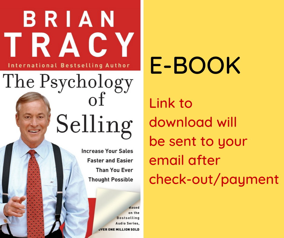 E-BOOK: The Psychology of Selling: Increase Your Sales Faster and Easier Than You Ever Thought Possible