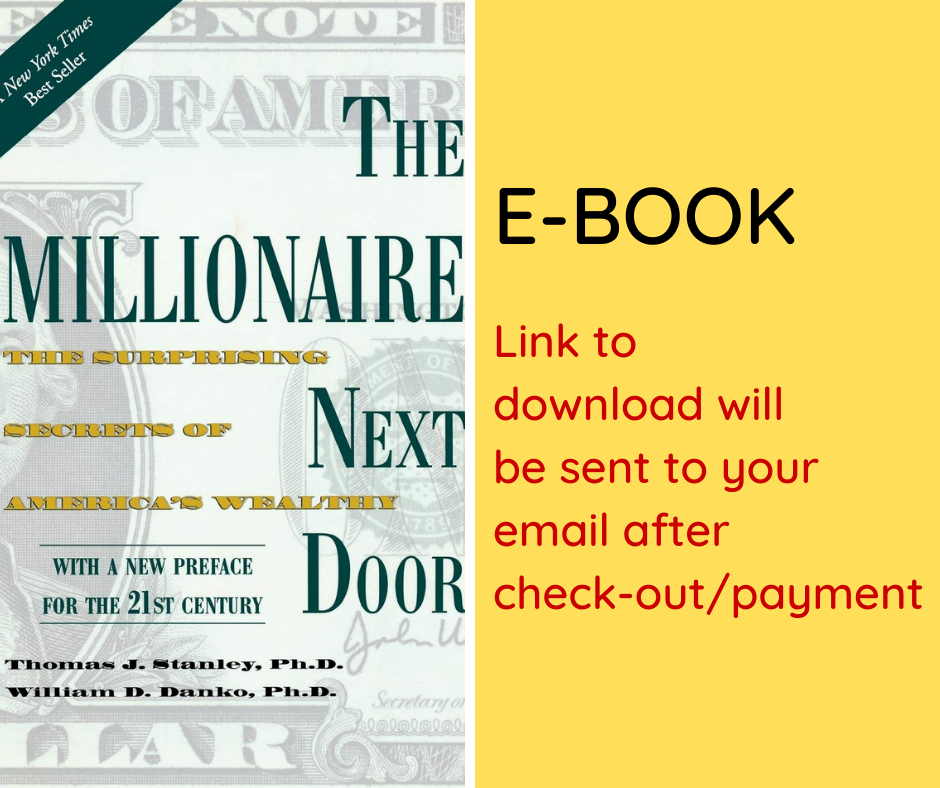 E-BOOK: The Millionaire Next Door: The Surprising Secrets of America's Wealthy