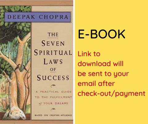 E-BOOK: The Seven Spiritual Laws of Success: A Pocketbook Guide to Fulfilling Your Dreams