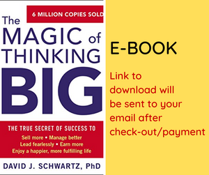E-BOOK: The Magic of Thinking Big