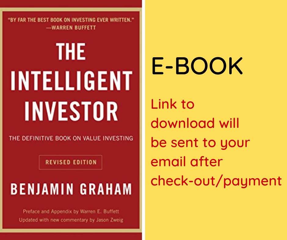 E-BOOK: The Intelligent Investor: The Definitive Book on Value Investing. A Book of Practical Counsel