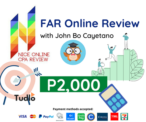 NICE ONLINE CPA REVIEW: FAR Online Review with John Bo Cayetano