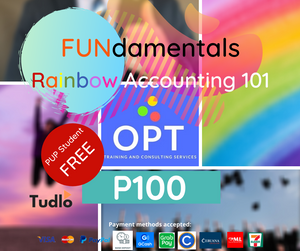 OPT TRAINING AND CONSULTING SERVICES: FUNdamentals Rainbow Accounting 101