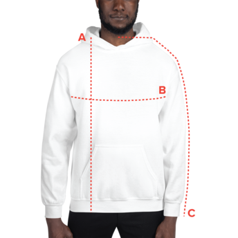 Guide des tailles hoodies