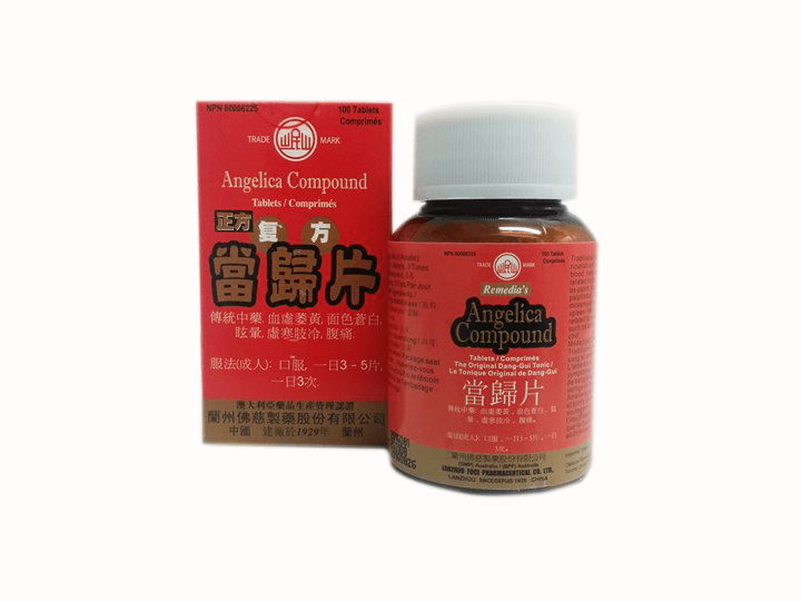 Angelica Compound Tablets 正方复方当归片