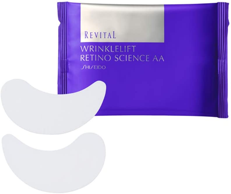 Shiseido Revital Wrinklelift Retino Science AA Eye Mask 资生堂悦薇眼膜 24片