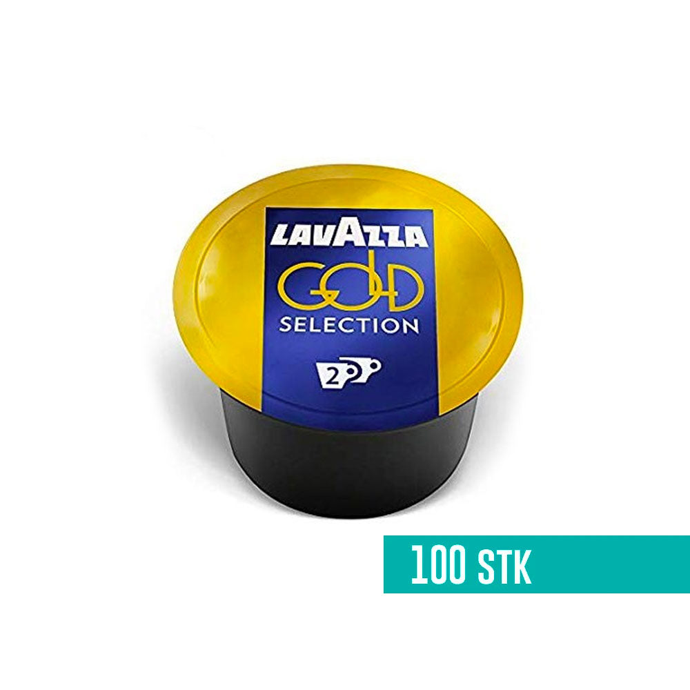 Lavazza Blue Gold Selection kaffekapsler I 100 stk I 2 kopper