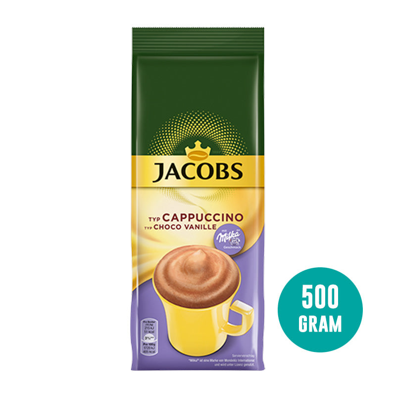 Jacobs Milka Choco Vanille | Instant | 500g