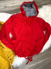Load image into Gallery viewer, Hooded Windbreaker