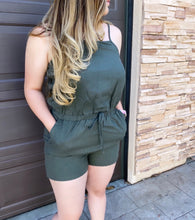 Load image into Gallery viewer, Nova Jumpsuit (Olive)
