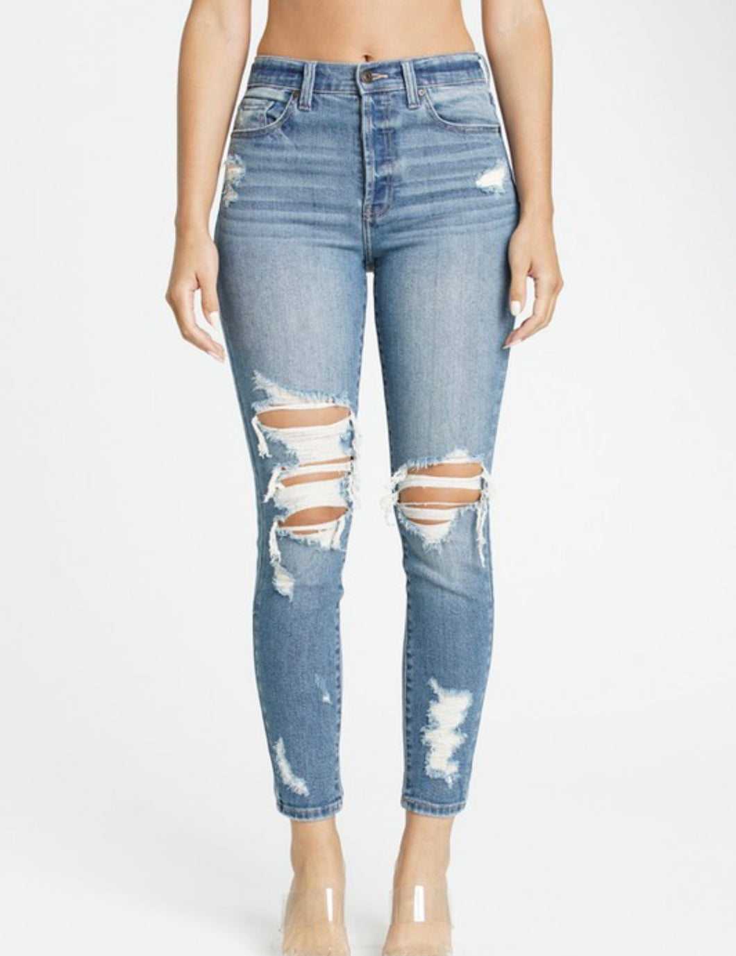 Layla Distressed Jeans