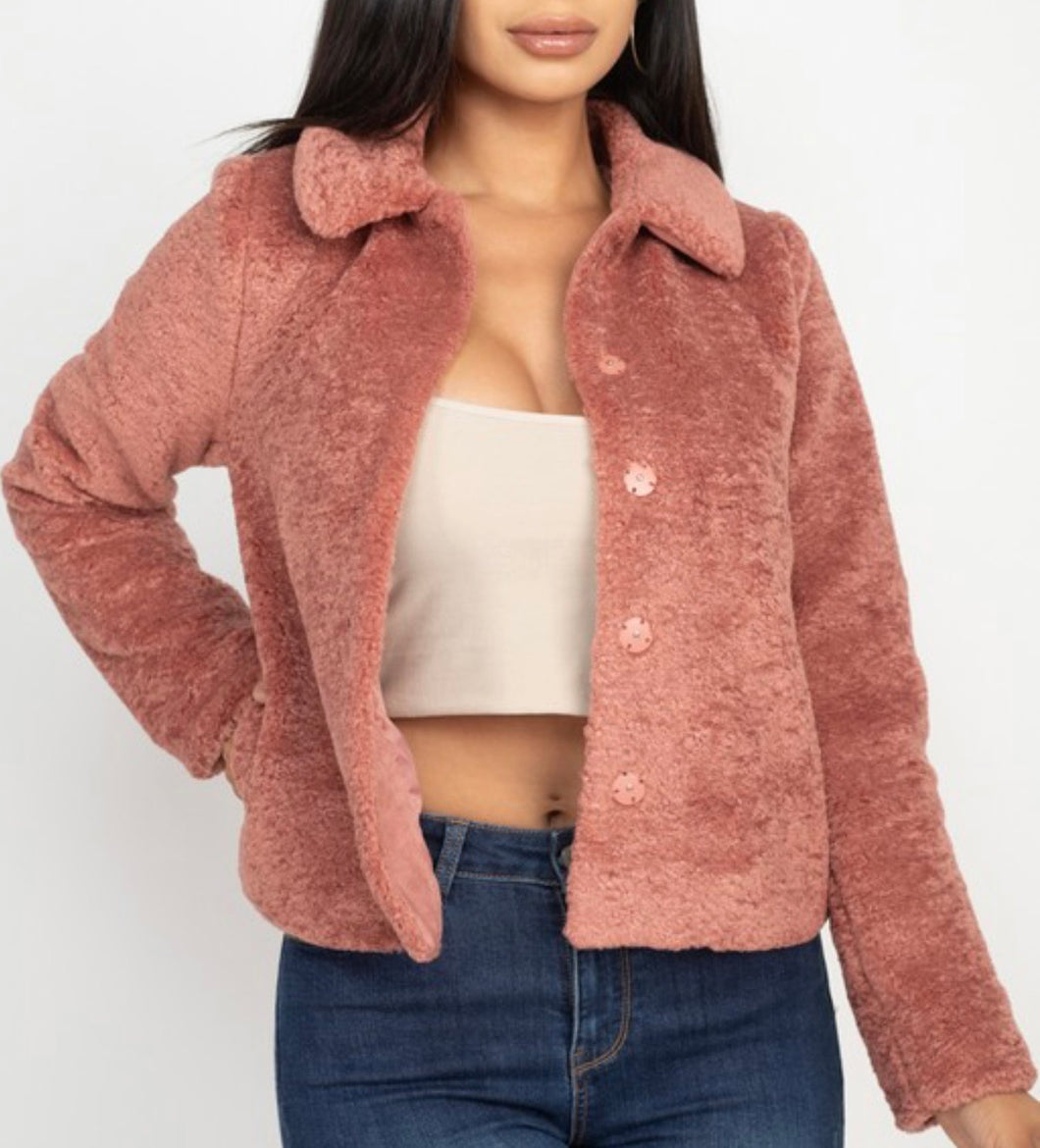 Oriana Faux Fur Jacket