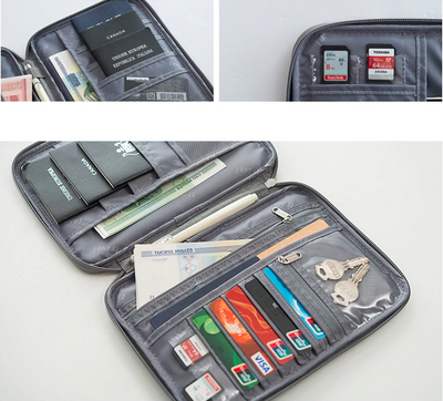 Lofthigher, backpack, Travel Wallet - Multi-Function Credit Card, Passport Holder