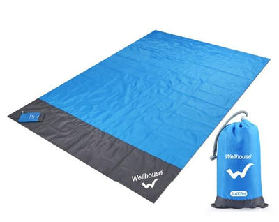 Lofthigher, pack, Waterproof Pocket Beach Blanket