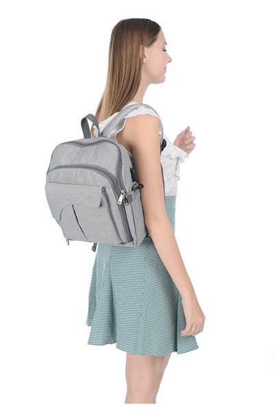 Lofthigher, backpack, Diaper Bag with Baby Booster Seat